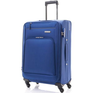 American Tourister Brook 4Wheel Soft Trolley 55cm Blue