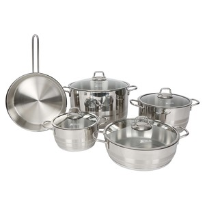 Vivaldi Asya Stainless Steel Cookware Set 9Pcs