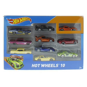 Hot Wheels Car Gift Pack 10Pc Assorted 54886
