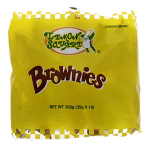 Lemon Square Brownies Cake 35g X 10 Pieces