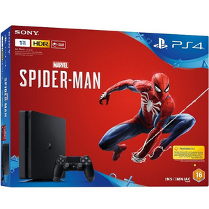 Sony PlayStation 4 1TB + Spider-man