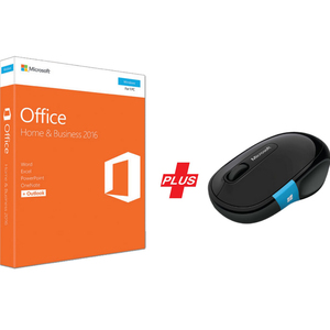 Microsoft Office Home & Business 2016  + Microsoft Sculpt Comfort Mouse