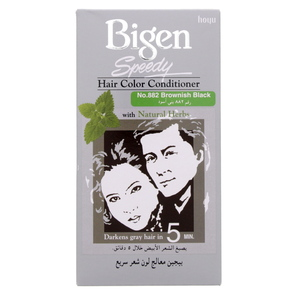 Bigen Speedy Hair Color Conditioner No.882 Brownish Black 1 Pkt