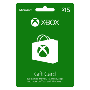 Xbox Live Digital Gift Card 15 USD [Digital Download]