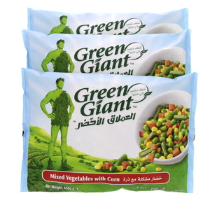 Green Giant Mixed Vegetables With Corn 450g X 3pcs