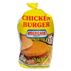 Americana Chicken Burger 840g