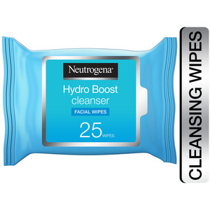 Neutrogena Makeup Remover Wipes Hydro Boost Cleansing Face 25pcs