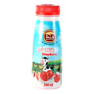 Baladna Fresh Flavored Milk Strawberry 200ml