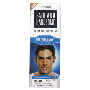 Emami Fair & Handsome Advanced Whitening Instant Boost Face Cream 100ml