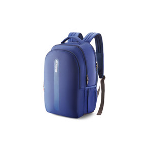 "American Tourister School Backpack Forro 17"" Blue"