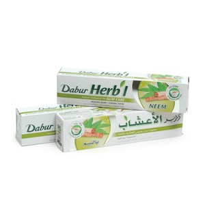 Dabur Herbal Natural toothpaste for Gum Care Neem 150g 2pcs+1