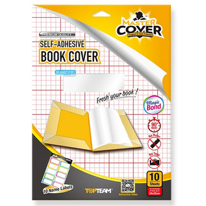 Top Team Self-adhesive Book Cover
