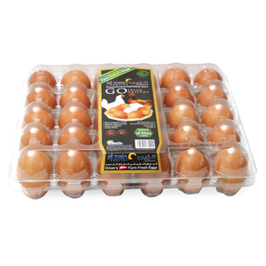 Al Zain Brown Eggs Large 30pcs