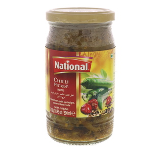National Chilli Pickle In Oil 310g