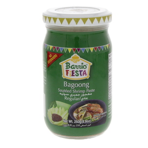 Barrio Fiesta Bagoong Sauteed Shrimp Paste Regular 250g