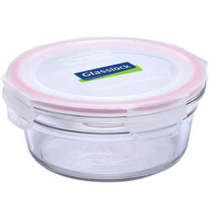 Glass Lock Round Glass Container RP524