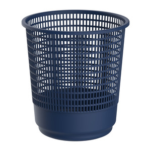 Cosmoplast Waste Basket Large Assorted Color 1pc