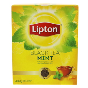 Lipton Loose Black Tea With Mint Flavour 380g