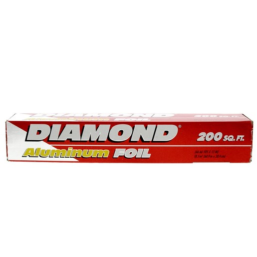 Diamond Aluminum Foil Size 60.9mx30.4cm 200sq.ft