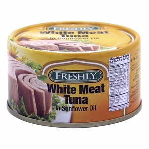 Freshly White Meat Tuna In Sunflower Oil  200g