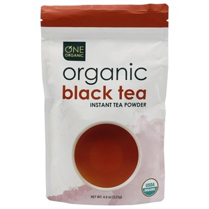 One Organic Instant Organic Black Tea Powder 125g