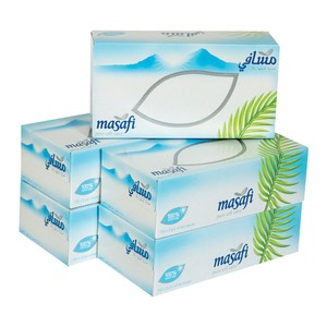 Masafi Facial Tissue 2ply 5 x 150pcs