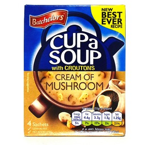 Batchelors Cup a Soup with Croutons Cream of Mushroom 99g