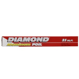 Diamond Aluminum Foil 7.62mx30.4cm 25sq.ft