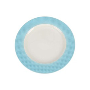 Qualitier Dessert Plate Blue 21cm per pc