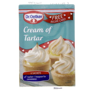 Oetker Cream of Tartar 5 Gm 6 Sachet