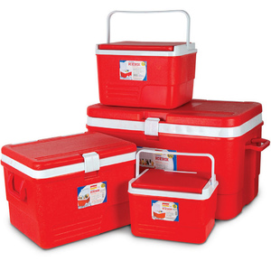 Aristo Cooler Box Set 4pcs 60L + 25L + 14L + 6L Assorted Colour