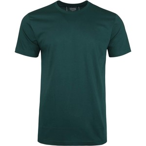 De Backers Men's Round-Neck Organic Cotton T-Shirt Forest Green