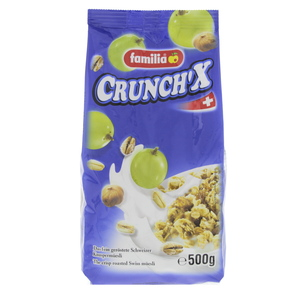 Familia Crunch' X Roasted Swiss Muesli 500g