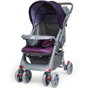 First Step Baby Stroller KGFC18D Purple