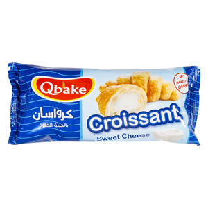 Qbake Croissant Sweet Cheese 60g