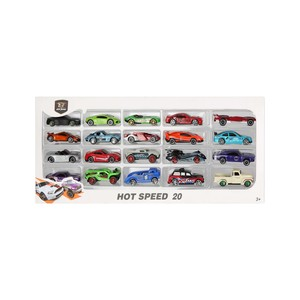 Skid Fusion Die Cast Car 20Pcs 1605-1 Assorted