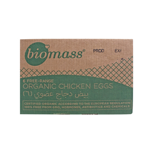 Biomass Organic Chicken Eggs 6pcs