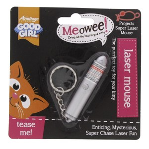 Armitage Good Girl Meowee Cat Laser Mouse 1pc