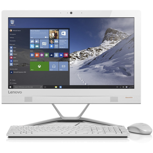 Lenovo All in One Desktop 300F0BY00J7AX i3 White