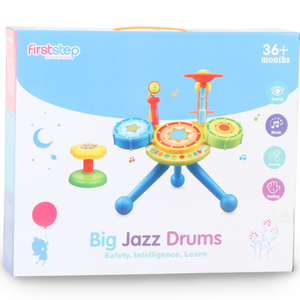 First Step Big Jazz Drums WD3666
