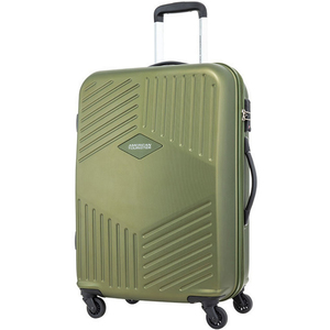 American Tourister Trillion 4 Wheel Hard Trolley 79cm Olive