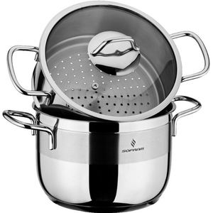 Sofram Stainless Steel Steamer With Lid 24cm