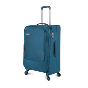 Carlton Hamilton 4Wheel Soft Trolley 57cm Blue