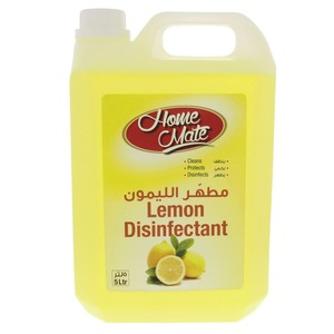 Home Mate Disinfectant Lemon 5Litre