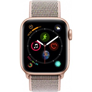 Apple Watch Series 4 - GPS 40mm Gold Aluminium Case with Pink Sand Sport Loop