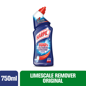 Harpic Toilet Cleaner Liquid Limescale Remover Original 750ml
