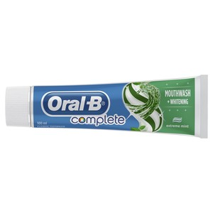 Oral-B Complete Mouthwash + Whitening Toothpaste 100ml