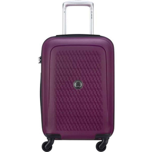 Delsey Tasman 4 Wheel Hard Trolley 79cm Purple