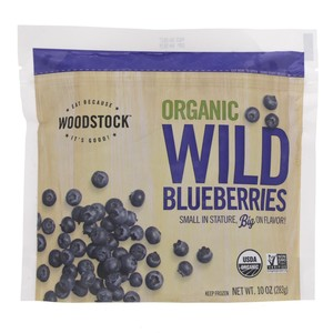 Woodstock Organic Wild Blueberries 283g