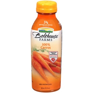 Bolthouse Farms Juice 100% Carrot 450ml
